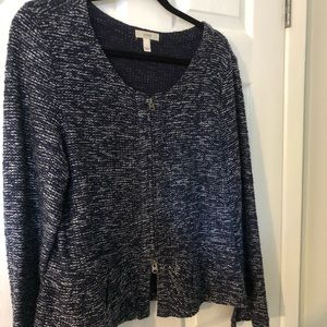 Jcrew bucle peplum jacket